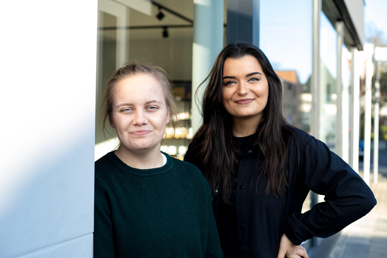 Gizem Bulut und Judith Grünewald von FilMea