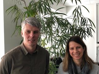 Daniel Möller und Melanie Friedrichs